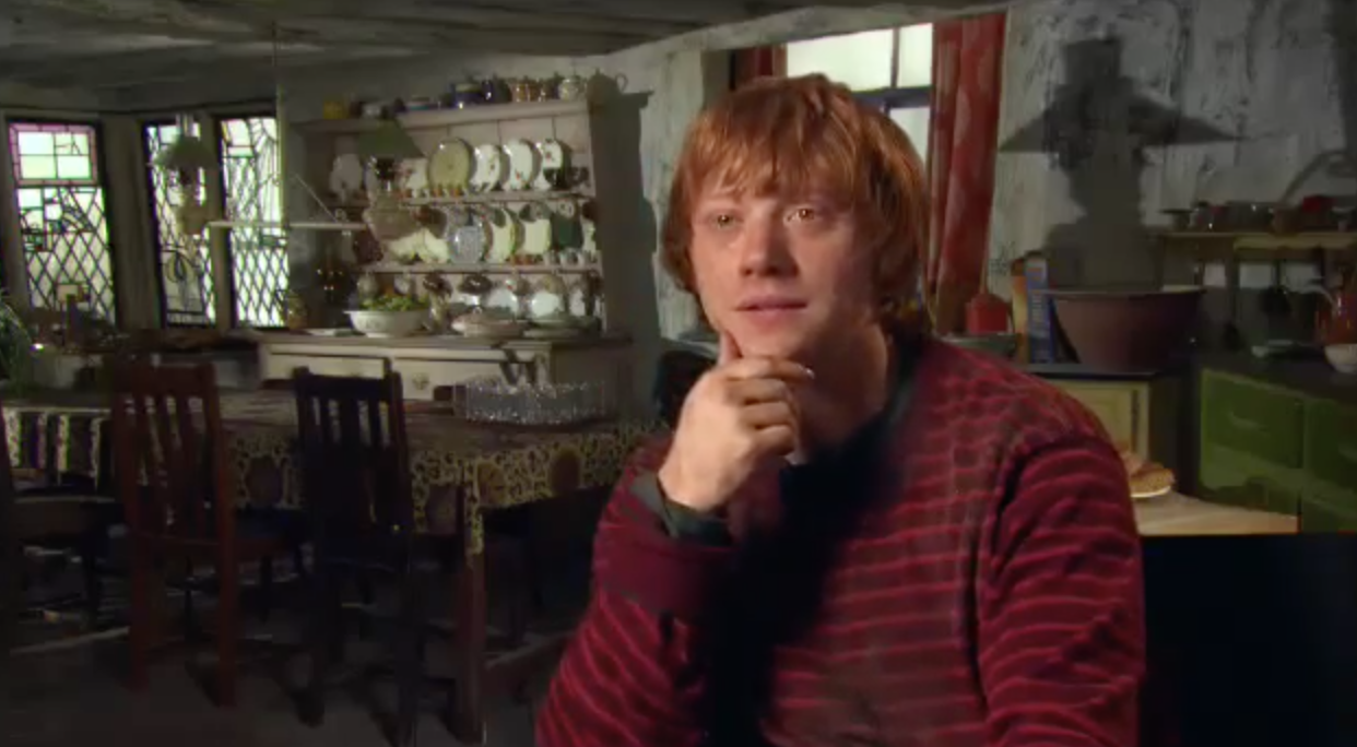DH2 Featurette: The Love Life Of Ron Weasley