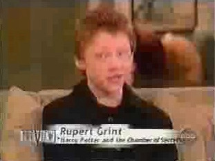Rupert Grint and Emma Watson on The View