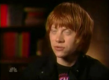 Rupert talks JKR on Dateline