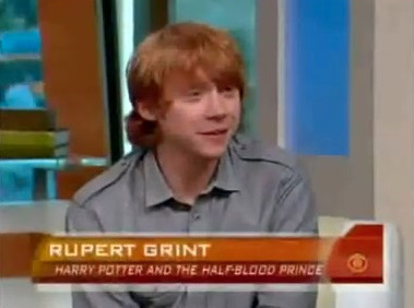 CBS News Interview with Rupert Grint