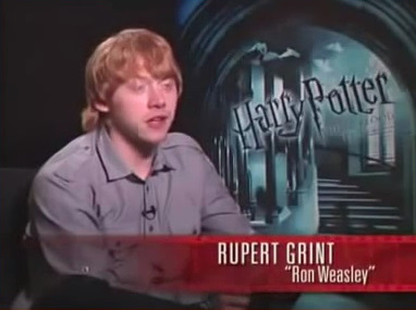 HBP Moviephone Interview with Rupert Grint