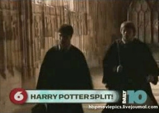 EDaily10 about splitting Deathly Hallows