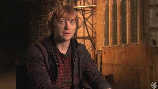 Rupert Grint and Tom Felton talk fame