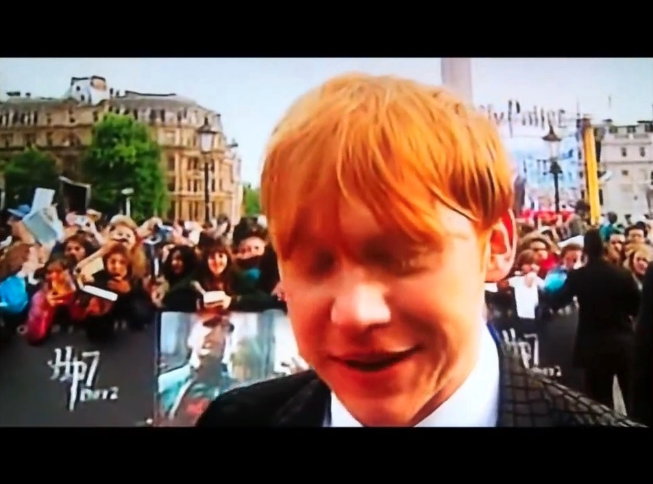 Interview at London DH2 Premiere