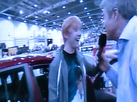 Top Gear Live Interview