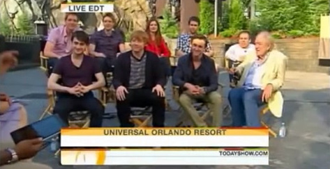 The Today Show at Wizarding World of Harry Potter