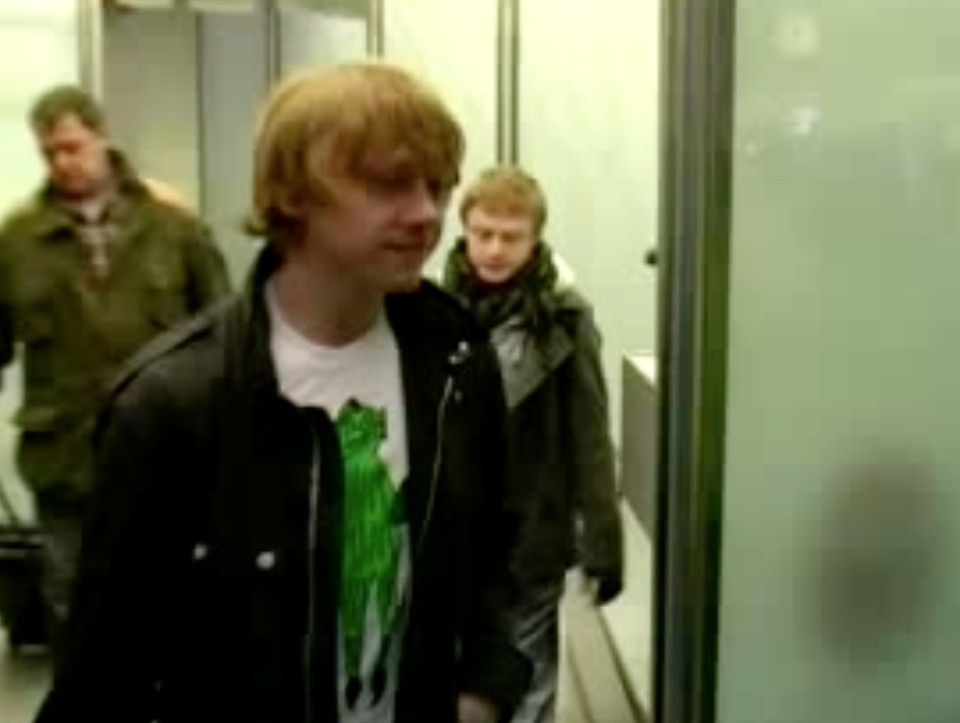 Rupert Arrives In Berlin