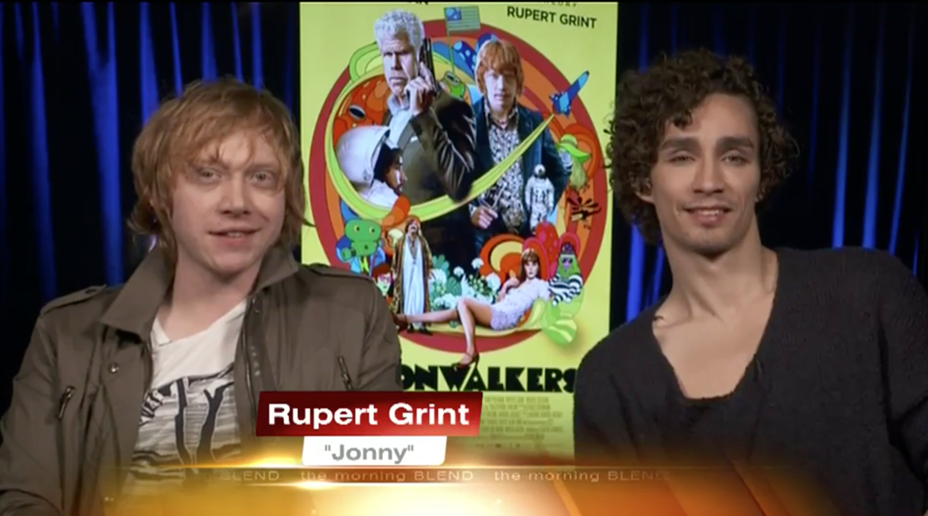 Rupert Grint Interview By KTNV