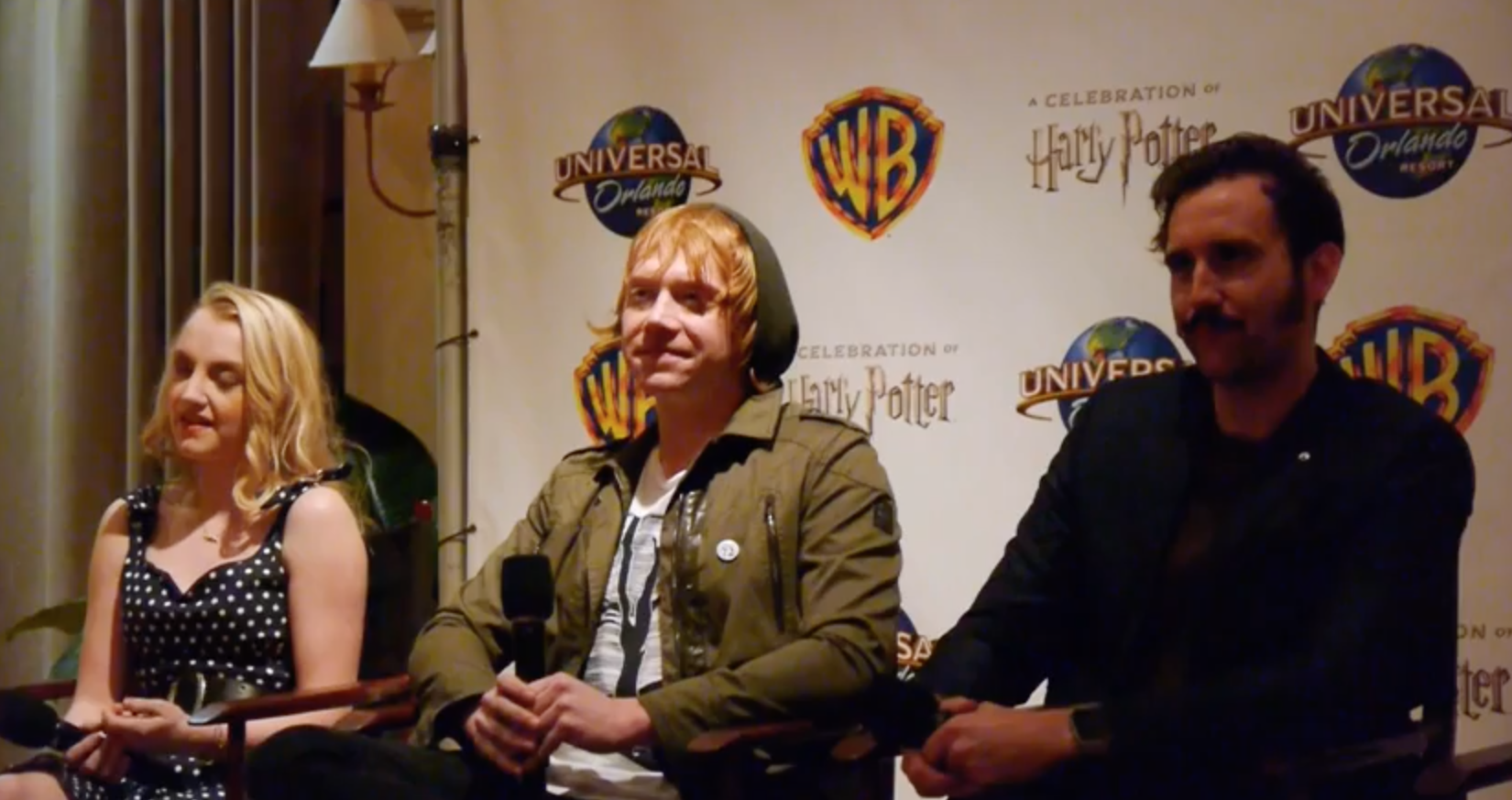 Media Q&A (A Celebration of Harry Potter): Part 1