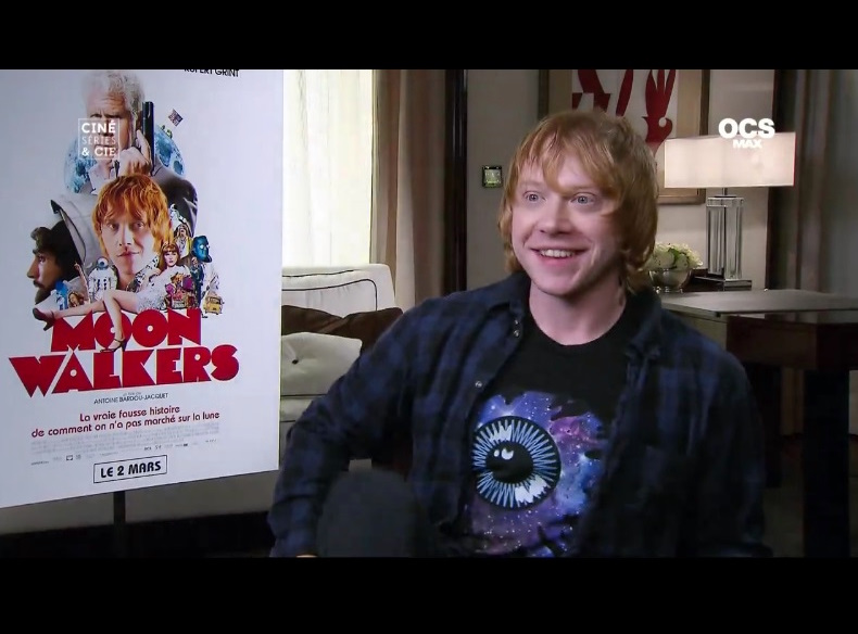 Moonwalkers Interview on Cine, Series et Cie