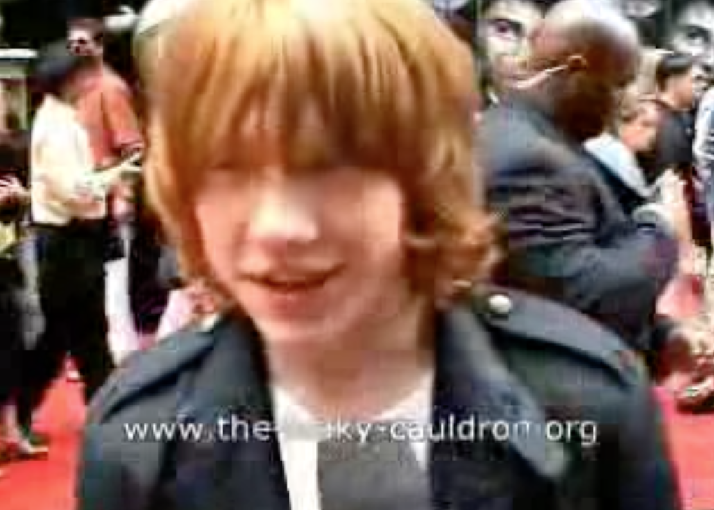 Leaky Interviews Rupert At PoA Premiere