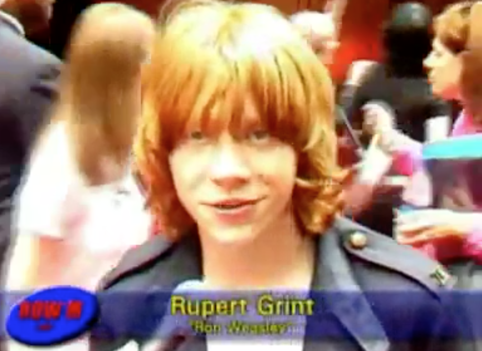Row M Interviews Rupert At PoA Premiere