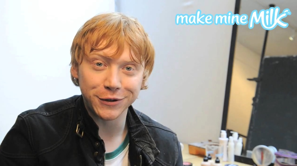 Rupert Grint - School's out for the summer!