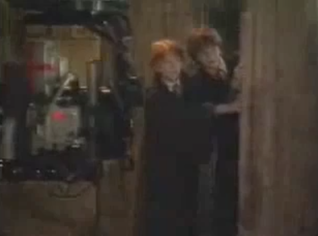 Sorcerer's Stone: On Set B-Roll (Part 2)