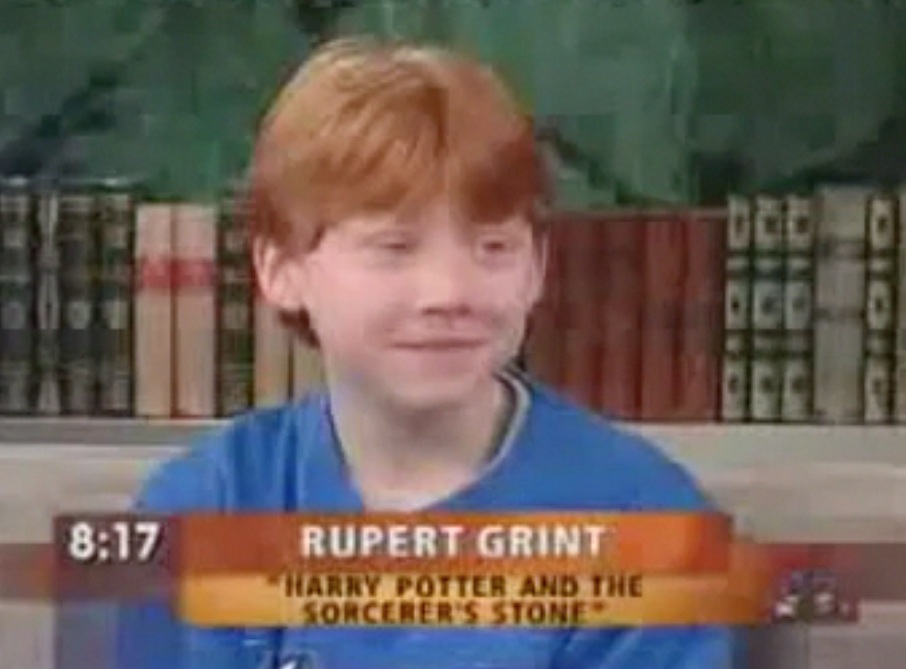 Rupert and Emma on The Today Show