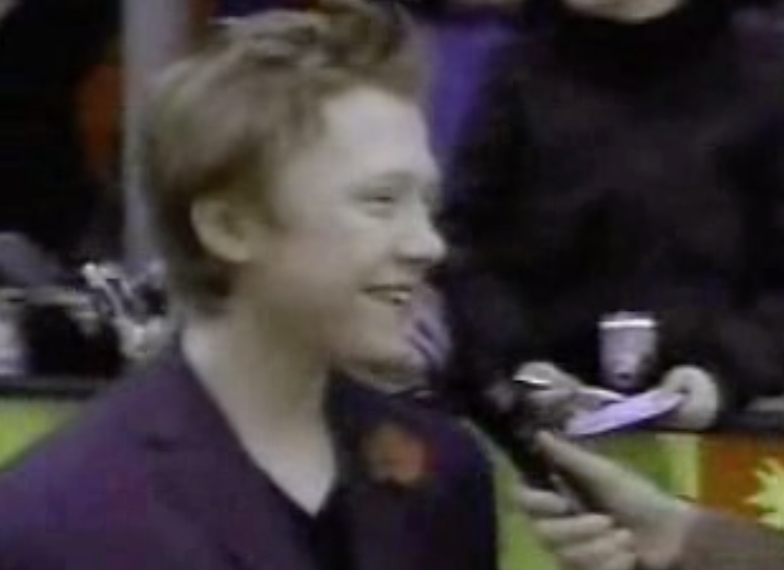 Rupert Grint: CoS London Premiere - WB Footage