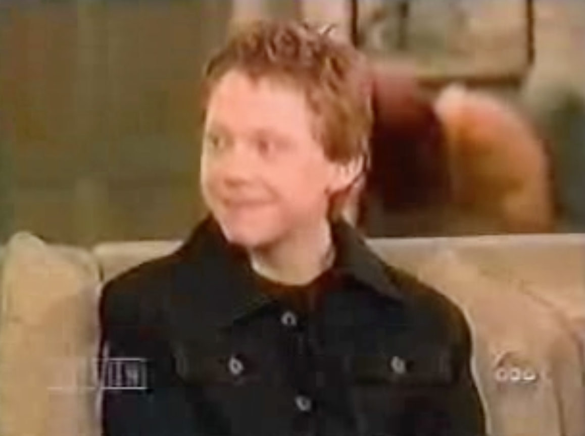 Rupert Grint on The View