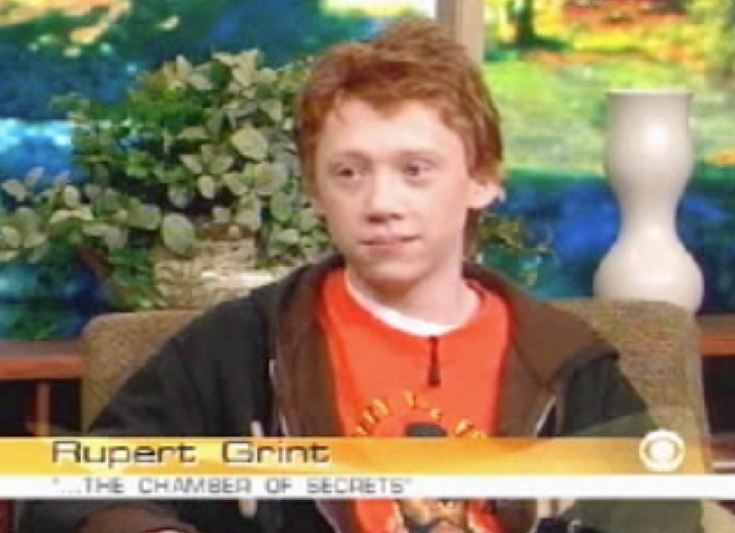 Rupert on the Early Show