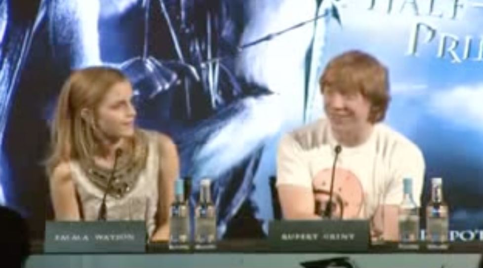 HBP Press Conference: Actor's Relationships