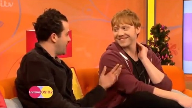 Rupert Grint and Daniel Mays about MOJO on ITV's Lorraine