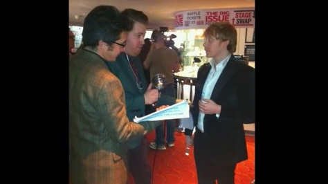Rupert Grint interview at WhatsOnStage Awards by Radiojiblets