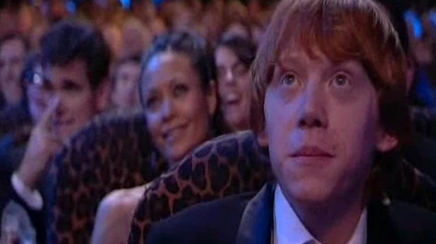 BAFTAs 2006 Rupert in the audience