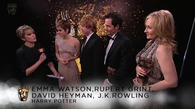 BAFTA 2011 Outstanding British Contribution Interview