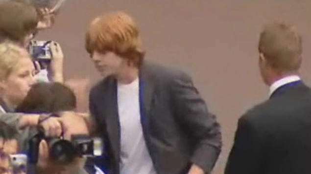 Rupert at the Batman Begins premiere
