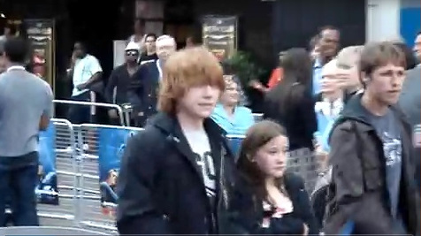Rupert at Fantastic Four premiere
