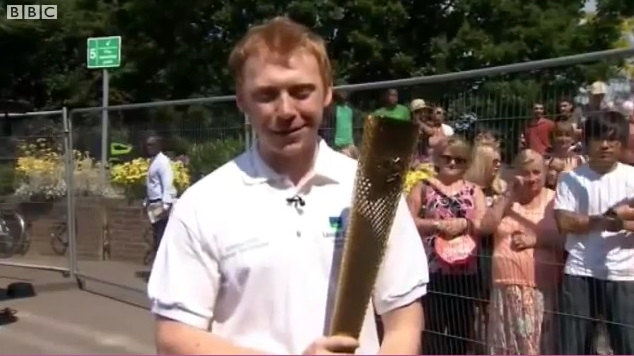 Olympic Torch Relay: Interview with BBC