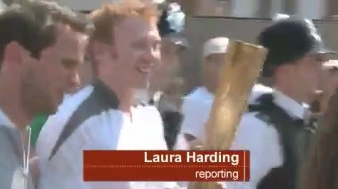 Olympic Torch Relay: Press Association coverage