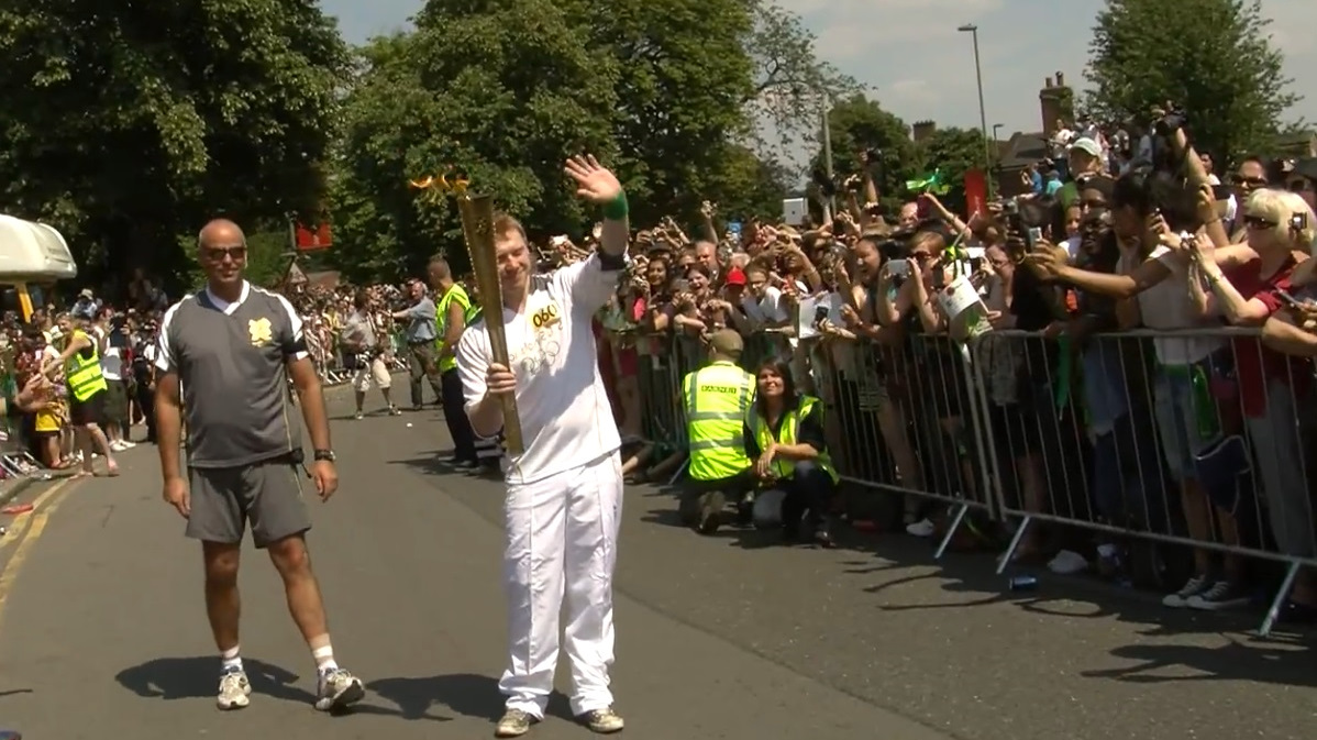 Olympic Torch Relay: Interview