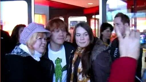 Rupert arriving in Berlin 2009 Pt 2