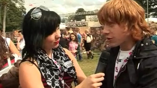 V Festival 2008 Louder Lounge Interview