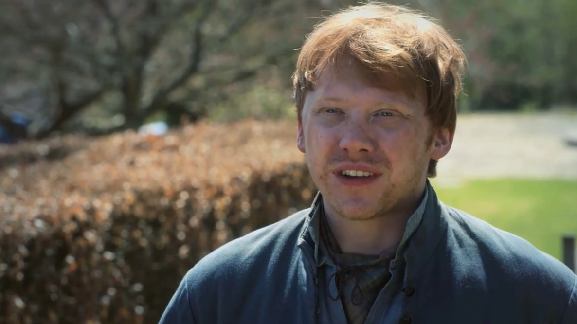 Rupert Grint on Riding Scenes for Enemy of Man