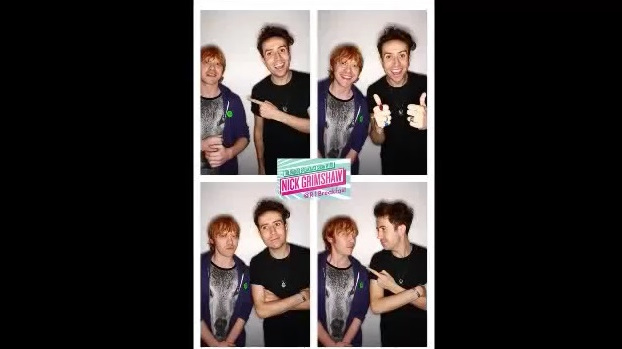 Rupert on BBC Radio1 Nick Grimshaw about Postman Pat