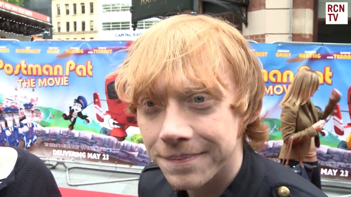 Rupert talks about Ron/Hermione to RedCarpet News
