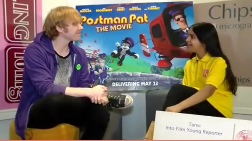 Interview with Into Film about Postman Pat
