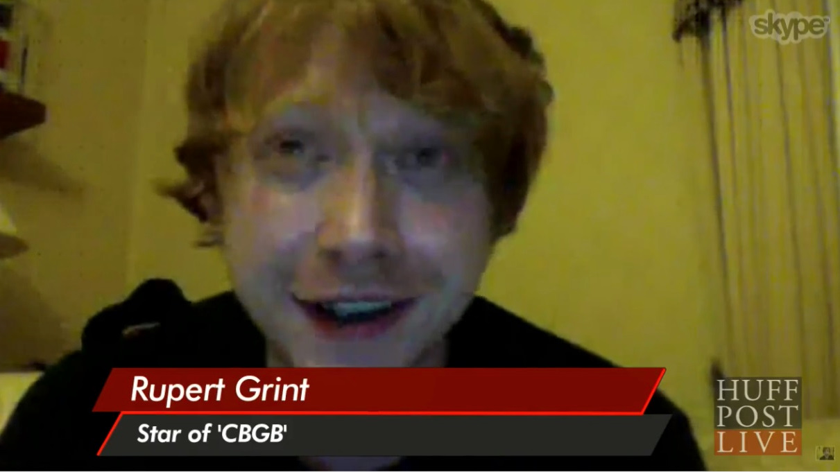 Rupert talks CBGB with Huffington Post Live