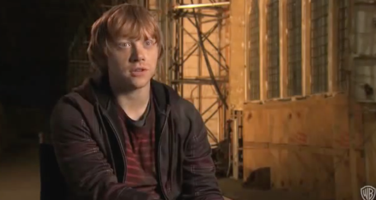 Rupert Grint: Growing Up On Set