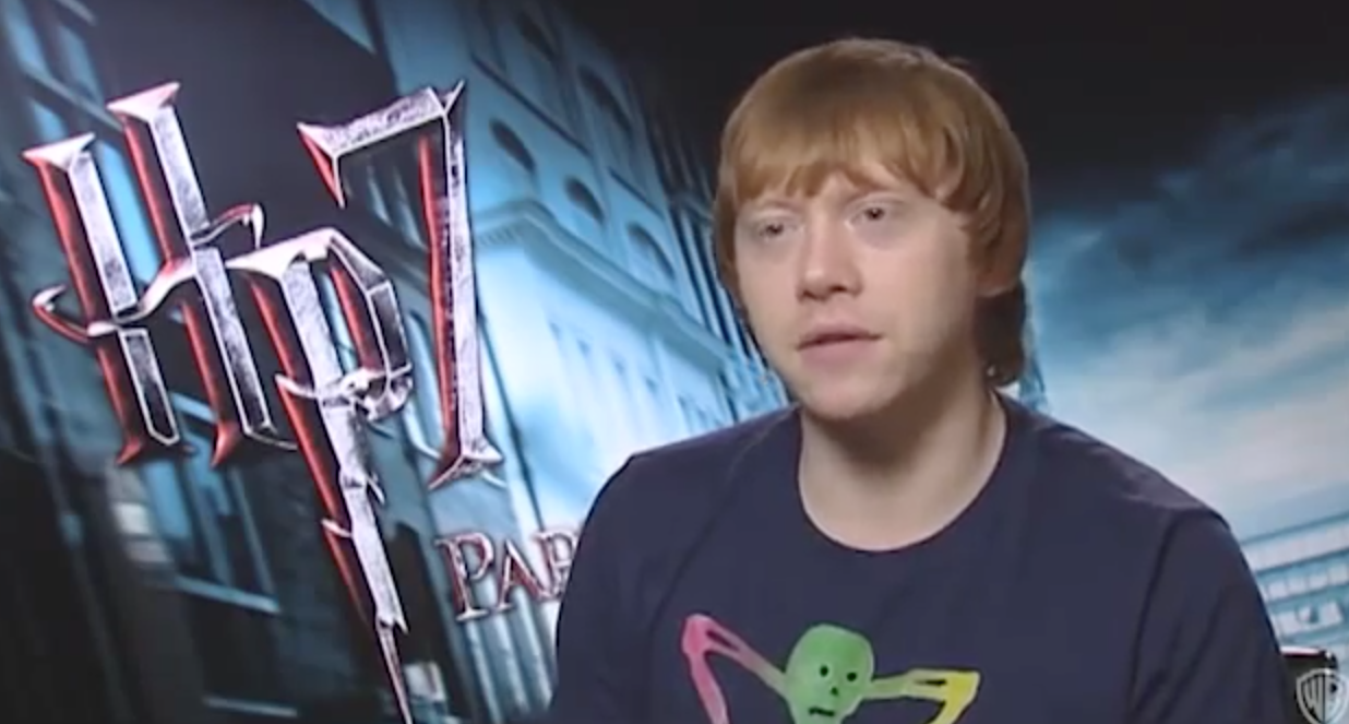 Rupert Grint: Outdoor Filming